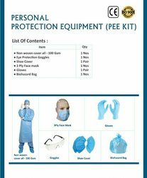 100 Gsm Non-Disposable Personal Protection Equipment Kit