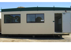 Security Cabin for Offices