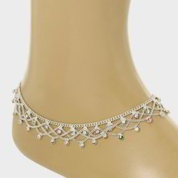 77fda97d931 Silver Anklets - Silver Payal Exporters in India