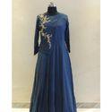 Full Sleeve Blue Ladies Kurti