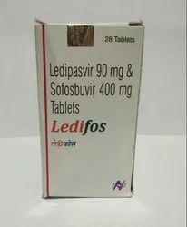 Ledipasvir 90mg Sofosbuvir 400mh Tablet