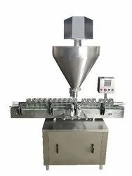 Automatic Single Hooper Auger Powder Filling Machine