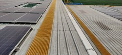 FRP Grating Solar Walkways 20 MM Thickness