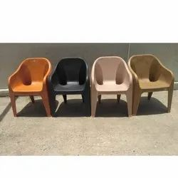 Mid Back Plastic Relax Chair