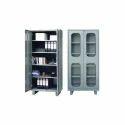 Grey Metal Office Cupboard