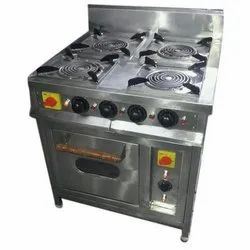 Four Burner Bhatti with oven