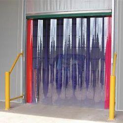 Pvc Strip Curtains पीवीसी स्ट्रिप कर्टेन Polyvinyl