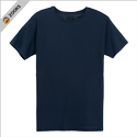 Zooks 10 Colors 100% Cotton Single Jersey Round Neck T Shirt