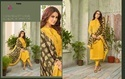 Cotton Silk Embroidered Churidar Salwar Kameez
