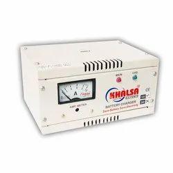 Khalsa 12V Automatic Battery Charger, Input Voltage: 220-240 V, Output Voltage: 12 Vdc