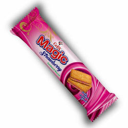Strawberry Flavoured Sandwich Biscuit