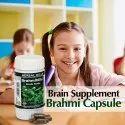 Ayurvedic Medicine for Memory & Concentration - Brahmi 60 Capsule Bacopa Monnieri