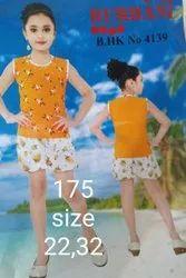 Yellow Girls Kids Dress