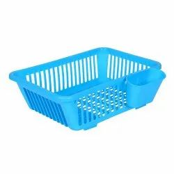 3 in 1 Large Sink Set Dish Rack Drainer with Tray