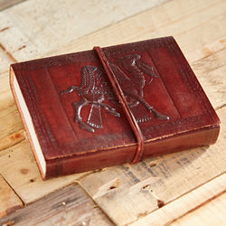 Handmade Leather Diary, Vintage Leather Journals, Handmade Paper Diaries
