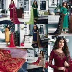 DESIGNER HEAVY EMBROIDERED SALWAR SUITS