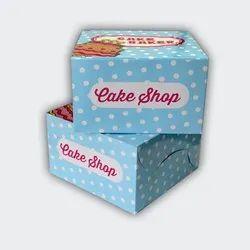 Printed Cake Packaging Box
