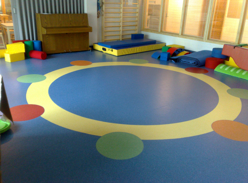 Blue Play School Flooring Thickness 1 And 2 Mm Rs 50