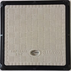 15X15 Inch Simtex FRP Square Manhole Cover