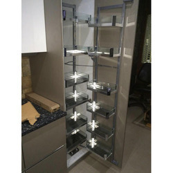 Param 450mm Crystal Finish 12 Baskets Glass Pantry