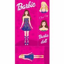 Barbie Digital Cartoon Print Laminated Board