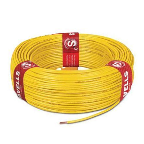 Yellow PVC 0.75 MM Standard Electric Wire, 220 V, Rs 810 /piece | ID ...