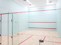 HARD PLASTER OF SQUASH COURT