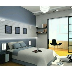 Designer Hardwood Double Bed, Size: 6 x 6 Feet