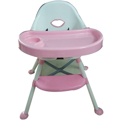 White And Pink Baby Plastic High Chair Rs 2150 Piece Mehta