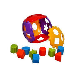 Toy Kart Shape Sorter Block Set