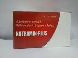 Multivitamins, Minerals, Methylcobalamin & Lycopene Tablets, Packaging Type: Box, Grade Standard: Medicine Grade