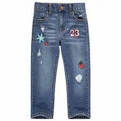 Denim Comfort Girls Stretchable Jeans