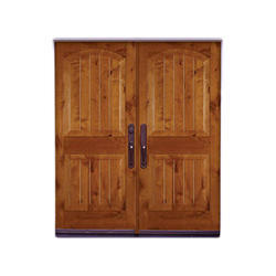 Wooden Brown Traditional Door