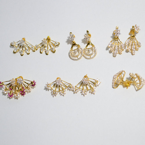 Small Drop Gold Earring Weight 3 To 5 Gm Rs 3500 Gram Id