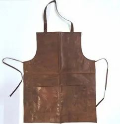 Vintage Goat Leather Apron