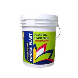 Emulsion Plastic Exterior Paint, Packaging Type: Bucket