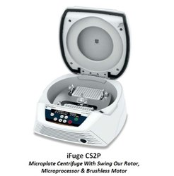 iFuge CS2P Microplate Centrifuge With a Swing Out Rotor