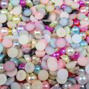 Colorful Half Beads Pearls Moti