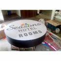 Round Shape Signage Board