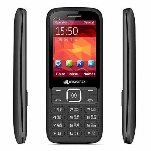 Micromax X742 Mobile Phone, Dimension: 121 X 51 X 15 Mm
