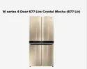 W Series 4 Door 677 Ltrs Crystal Mocha 677 Ltr Refrigerator