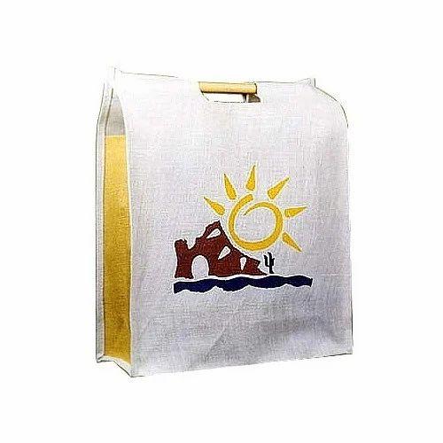 566ce5c92c95 Jute Printed Shopping Bag, Rs 250 /piece, Gurprasad International ...