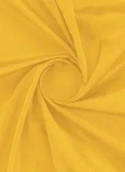 Polyester Yellow Dupion Fabric