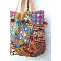 Women's Vintage Embroidery Banjara Shoulder Bag