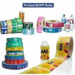 Printed BOPP Label