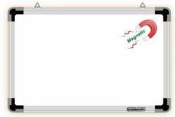 标志铝白色电磁板生态,学校,尺寸/尺寸:24 X 18到48 X 144