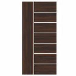 Interior Hdf Moulded Veneer Door, For Home, 8 Ft 6 Ft