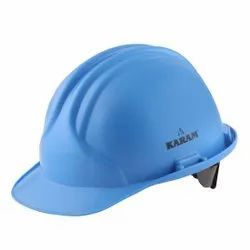 Karam PN561 Star Blue ISI Marked Safety Helmet with Plastic Cradle