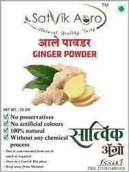 SATVIK AGRO Ginger Powder, Packaging Size: 25g, 4