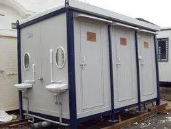 RNC Modular,Panel Build PUF Panel Toilet, For Construction Site,Etc